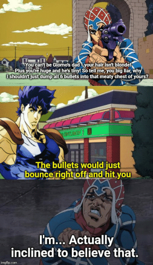[Sex pistols] is no match for Giorno's big daddy-o: [Sex pistols] is no match for Giorno's big daddy-o