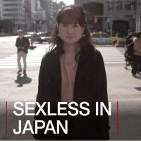 6 JUL: Japan's youth seem to have gone off sex. According to new research, there are increasing numbers who have never had, or are currently not having, a physical relationship. But is this down to low self-esteem or simply not being bothered? Watch more: bbc.in-sexless Japan Celibate Abstinence Youth Psychology SelfEsteem BBCShorts BBCNews @BBCShorts: SEXLESS[  JAPAN 6 JUL: Japan's youth seem to have gone off sex. According to new research, there are increasing numbers who have never had, or are currently not having, a physical relationship. But is this down to low self-esteem or simply not being bothered? Watch more: bbc.in-sexless Japan Celibate Abstinence Youth Psychology SelfEsteem BBCShorts BBCNews @BBCShorts