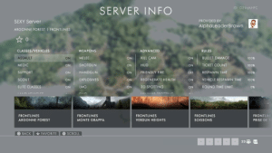 [SEXY] rented a BF1 Frontlines server for a month. PS4, US East. All of the BF1 frontlines servers were full when they aired recently so wtf. Why not.: [SEXY] rented a BF1 Frontlines server for a month. PS4, US East. All of the BF1 frontlines servers were full when they aired recently so wtf. Why not.