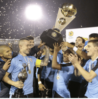 Uruguay, Ecuador, Venezuela and Argentina are the four sides who will represent South America at the FIFA U-20 World Cup Korea Republic 2017. La Celeste took the first of four tickets on offer at the South American U-20 Championship in Ecuador after securing four wins out of five in the final stage of the tournament, eventually running out winners of the continental campaign. MondayMotivation U20WC Uruguay SouthAmerica CONMEBOL champions campeones @aufoficial: SF Uruguay, Ecuador, Venezuela and Argentina are the four sides who will represent South America at the FIFA U-20 World Cup Korea Republic 2017. La Celeste took the first of four tickets on offer at the South American U-20 Championship in Ecuador after securing four wins out of five in the final stage of the tournament, eventually running out winners of the continental campaign. MondayMotivation U20WC Uruguay SouthAmerica CONMEBOL champions campeones @aufoficial