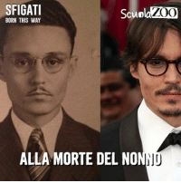 Johnny Depp, Memes, and 🤖: SFIGATI  ZOO  BORN THIS WAY  ALLA MORTE DEL NO Puntata 5 di Sfigati - BornThisWay <3 Oggi per dire StopAlBullismo vi raccontiamo la storia di Johnny Depp, un artista che non ha bisogno di presentazioni. In pochi sanno che Johnny è stato pesantemente bullizzato nei corridoio di scuola, per questo motivo ha dichiarato di essere letteralmente terrorizzato che questo possa accadere anche ai suoi due figli. StopAlBullismo
