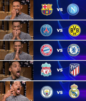 Can't wait till February 😍 https://t.co/psde3MKxBE: SFOOTBEL  HRENA  VS  FCB  PARIS  (B'B  09  VS  SAINT  GERMAIN  AVERIN  VS  OHELSER  CHEN  HONDA  CLUB  FOOTBALL  YOUL NEVER WALKALONE  LIVERPOOL  VS  FOOTBALL CLUS  EST 1892  VS  CITY  STER Can't wait till February 😍 https://t.co/psde3MKxBE
