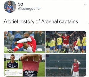 😂😂😂 https://t.co/Az25KGhM6H: SG  @seangooner  10  A brief history of Arsenal captains  AON  12  CRY  Fly  Emirare  othe Ind Ocean 17 51  This furts The level of disrespect You should be  ashamed for the way you've left the dub after 9 years  Got what you wanted and still trying to huve a dig  Hope it's worth it in the long run 😂😂😂 https://t.co/Az25KGhM6H