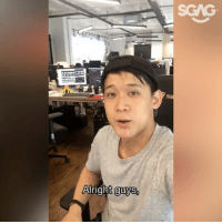 <<Swipe left to see part 2 of video>> Watch Kenny try to jio everyone for this year's SGAG trollnament, but kenna troll by Xiao Ming in the end HAHAHA!! Sign up at <<bitly.com-trollnament2017>>! See u guys there!!!: SGAG  Airignt guys <<Swipe left to see part 2 of video>> Watch Kenny try to jio everyone for this year's SGAG trollnament, but kenna troll by Xiao Ming in the end HAHAHA!! Sign up at <<bitly.com-trollnament2017>>! See u guys there!!!