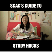 Memes, Help, and Video: SGAG'S GUIDE TO  SiA  TING TONG  STUDY HACKS Ever felt sleepy or distracted while studying? Check out this video for some easy 'lifehacks' and 'tips' to help you ace your exams! 😉😉