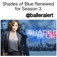 "Memes, Ray Liotta, and 🤖: Shades of Blue Rene  for Season 3  @baller alert  i SHADE  OF BLUE Shades of Blue Renewed for Season 3 - blogged by @MsJennyb ⠀⠀⠀⠀⠀⠀⠀⠀⠀ ⠀⠀⠀⠀⠀⠀⠀⠀⠀ Jenny from the block are her crew of crooked cops are back! ⠀⠀⠀⠀⠀⠀⠀⠀⠀ ⠀⠀⠀⠀⠀⠀⠀⠀⠀ According to Entertainment Weekly, NBC's hit series ShadesofBlue, starring Jennifer Lopez, has been renewed for a third season. ⠀⠀⠀⠀⠀⠀⠀⠀⠀ ⠀⠀⠀⠀⠀⠀⠀⠀⠀ The series focuses on a close nit group of police officers, who lie, cheat, and steal to support their families, while maintaining their loyalty among one another. But, when one gets caught up with the law, she's forced to choose between her family or her crew. ⠀⠀⠀⠀⠀⠀⠀⠀⠀ ⠀⠀⠀⠀⠀⠀⠀⠀⠀ ""We're so hugely appreciative of everything Jennifer and Ray [Liotta] do, and know it is due to their dedication, as well as the hard work of our incredible cast and producers, that Shades of Blue has so clearly and compellingly earned a third-season renewal,"" the network's president, Jennifer Salke, revealed on Friday. ""This show continues to mine powerful stories that always leave us hungry for more."" ⠀⠀⠀⠀⠀⠀⠀⠀⠀ ⠀⠀⠀⠀⠀⠀⠀⠀⠀ The hit series just returned for their second season, which airs on Sundays at 10 pm."