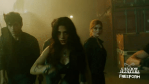 Target, Tumblr, and Blog: SHADOW  FREEFORM nephilimdaily:   New Exclusive Shadowhunters Season 2 promo!