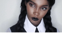 Tumblr, Pinterest, and Blog: shadowbeau:  Goth Mom ~ Pinterest Afro punk, Afro goth