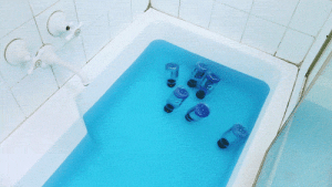 Fucking, Gatorade, and Gif: shadowfreak11:  spiritofwaterandfire:  turnabout4spoopy:  naruhodou-kun:  unofficialdragon:  lesprisenpati:  aidenmorse:  Bottles of Gatorade Blue Bolt floating in a bath of Powerade Mountain Blast, 2013  I can't tell if this is seriously art or if it's just tongue in cheek sarcastic art or if it's post-ironic ironic art, or ironic art, or literally just a joke and that is so not okay.  Aesthetic   Your Honor, there is a clear contradiction in this photo. As you can see from this piece of evidence, Gatorade bottles are topped with an orange lid. But in the photo above, the lids are black. Which means that the bottles in this photo can't be Gatorade bottles.   Mr. Wright, didn't you go to art school? I sure didn't, but I still know what happens when you mix orange and blue! In case you forgot, take a look at this! If you look closely, you can even see an orange tint! And what else can you see? The classic gatorade G. Your honor, I think this case is closed!  well that was much shorter than usual  she fucking destroyed him that's why it's short