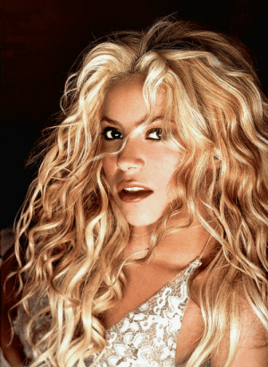 shakelikeshakira:      The first record I bought? An Arabic record, classic Arabic music. Not    that I bought with my own money – I went to the store with my dad, but I    was actually there getting the record in my hands. And I remember    listening to Donna Summer a lot, when I was about four years old. My mom    had one of her albums, I think Bad Girls. And I loved that music. I    still do. You know, that is the kind of music that never dies, that will    never sound dated. You can still listen     to it and feel like dancing.   Queen of music: shakelikeshakira:      The first record I bought? An Arabic record, classic Arabic music. Not    that I bought with my own money – I went to the store with my dad, but I    was actually there getting the record in my hands. And I remember    listening to Donna Summer a lot, when I was about four years old. My mom    had one of her albums, I think Bad Girls. And I loved that music. I    still do. You know, that is the kind of music that never dies, that will    never sound dated. You can still listen     to it and feel like dancing.   Queen of music
