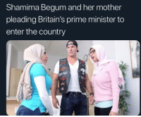 Shamima Begum: Shamima Begum and her mother  pleading Britain's prime minister to  enter the country