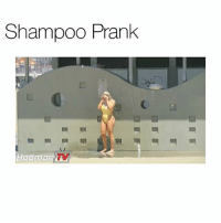 these people are retarded I swear: Shampoo Prank  Hooman TV these people are retarded I swear