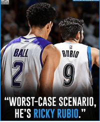 "Memes, 🤖, and Case: SHANNON  BALL  RUBIO  ""WORST-CASE SCENARIO,  HE'S RICKY RUBIO."" Agree or Disagree?"