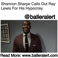"Baltimore Ravens, Disappointed, and Donald Trump: Shannon Sharpe Calls Out Ray  Lewis For His Hypocrisy  @balleralert  Read More: www.balleralert.conm Shannon Sharpe Calls Out Ray Lewis For His Hypocrisy - blogged by @MsJennyb ⠀⠀⠀⠀⠀⠀⠀ ⠀⠀⠀⠀⠀⠀⠀ Over the weekend, Donald Trump launched an attack on NFL players who kneel in protest of police brutality and racial injustices during the National Anthem. In the movement that started more than 14 months ago, when ColinKaepernick took a knee against racial oppression and inequality, many were opposed to his decision to kneel during the national song. However, others supported the movement, as the protest was never about the anthem or the flag, but about what it represents for some and not others. ⠀⠀⠀⠀⠀⠀⠀ ⠀⠀⠀⠀⠀⠀⠀ After Trump challenged NFL owners to fire the ""sons of bitches"" who disrespect the flag and country by kneeling during the anthem, many were inclined to react, including those who were previously opposed. ⠀⠀⠀⠀⠀⠀⠀ ⠀⠀⠀⠀⠀⠀⠀ In Sunday's game between the Baltimore Ravens and the Jacksonville Jaguars, RayLewis, who continuously condemned Kaepernick for starting the movement last season, took a knee during the anthem. In turn, several called out Lewis for his hypocrisy, including one of his ""very best friends,"" FS1 ""Undisputed"" host, ShannonSharpe. ⠀⠀⠀⠀⠀⠀⠀ ⠀⠀⠀⠀⠀⠀⠀ ""I'm very disappointed in one of my very best friends, Ray Lewis,"" Sharpe said on-air Monday. ""Ray Lewis sat in that chair right there and said he could never kneel, he could never not stand for the national anthem because so many people died and he had family members that fight for this country… and the flag means so much to him and he kneeled. Not on one knee – on both knees. So what are you kneeling for?"" he asked – speculating that his decision was solely based on Trump's comments. ⠀⠀⠀⠀⠀⠀⠀ ⠀⠀⠀⠀⠀⠀⠀ ""And that's what I find so ironic about this, Skip,"" Sharpe continued. ""The very people that said they would never, ever kneel – I just want to know what are you unifying against?........to read the rest log on to BallerAlert.com (clickable link on profile)"