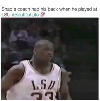 Tag your best friend 😂 HoodClips: Shaq's coach had his back when he played at  LSU Tag your best friend 😂 HoodClips