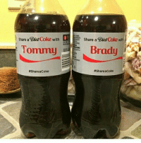 Super Bowl, Tom Brady, and Diet: Share a Diet Coke withShare a  with  Diet Coke with  ommi  Brady  #Share aCoke  Tastes like a 5 x Super Bowl Champion https://t.co/duNKN1zlXP