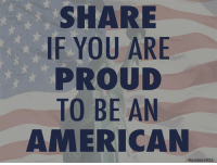 Memes, 4th of July, and American: SHARE  IF YOU ARE  PROUD  TO BE AN  AMERICAN  NumbersUSA Happy 4th of July!