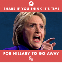 "Hillary Clinton says that ""civility can't start again"" unless Democrats take control of the House and Senate.: SHARE IF YOU THINK IT'S TIME  FOR HILLARY TO GO AWAY Hillary Clinton says that ""civility can't start again"" unless Democrats take control of the House and Senate."
