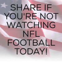 I Know I'M NOT WATCHING!  What About Ya'll?  Sound Off Below!  #BoycottNFL: SHARE IF  YOU'RE NOT  WATCHING  NFL  FOOTBALL  TODAY! I Know I'M NOT WATCHING!  What About Ya'll?  Sound Off Below!  #BoycottNFL