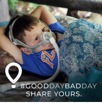 The lines between good days and bad days can be blurred when living with a chronic illness. No matter the day, Nathan is getting the best care at his children's hospital. gooddaybadday givingtuesday @cmnhospitals: SHARE YOURS The lines between good days and bad days can be blurred when living with a chronic illness. No matter the day, Nathan is getting the best care at his children's hospital. gooddaybadday givingtuesday @cmnhospitals