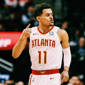Trae Young in three games since the All-Star break:  29.7 PPG 8.7 APG 15 threes 51.7 3PT%: sharecare  ATLANTA Trae Young in three games since the All-Star break:  29.7 PPG 8.7 APG 15 threes 51.7 3PT%