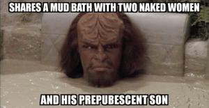 Bored, Dank, and Memes: SHARESA MUD BATH WITH TWONAKED WOMEN  AND HISPREPUBESCENT SON He complained about it being bored. by PublicFigureX MORE MEMES