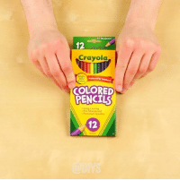 youtube.com, Link, and Girl Memes: Sharpened  12  Crayola  Bright  wdby  Colors  COLORED  PENCILS  Long-Lasting  Pre-Sharpened  * Premium Quality  12 DIY: Color pencil lampshade ✏️ - Follow: 💫 @diys 🔥 Sigam: 💫 @diys 🔥 Seguir: 💫 @diys 🔥 - Subscribe to our YouTube channel for more ideas! See link in bio.