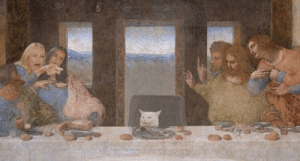 She's ruining my last supper!: She's ruining my last supper!