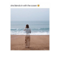 i need money: she blends in with the ocean i need money
