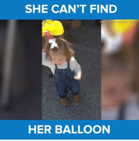 Mom, I can't find it! <3 via - JukinMedia: SHE CAN'T FIND  Video b  Tosumobe imgur  HER BALLOON Mom, I can't find it! <3 via - JukinMedia