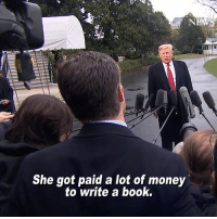 Memes, Money, and Book: She got paid a lot of money  to write a book.