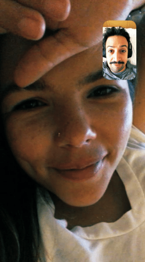 She has the most stunning face I am so grateful for FaceTime https://t.co/YuTJHgYhj9: She has the most stunning face I am so grateful for FaceTime https://t.co/YuTJHgYhj9