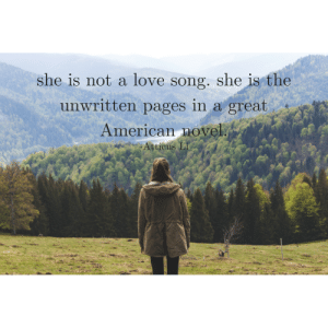 Instagram, Love, and Tumblr: she is not a love song. she is the  unwritten pages in a great  American novel atticusverses:   American NovelPhoto by @bladvagacian   Instagram: @atticus.verses  DM for Collaboration  Friendships