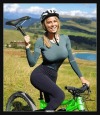Funny, She Knows, and How To: She knows how to ride.