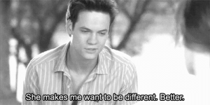 https://iglovequotes.net: She makes me want to be different, Better. https://iglovequotes.net