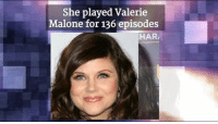 She Played Valerie Malone For 136 Episodes Hari Wishing Tiffani
