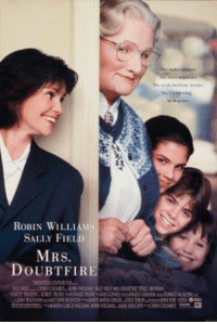 who loved this movie? ..HB: She reals tourscores  ROBIN WILLIAMS  SALLY FIEL  MRS.  DOUBTFIRE  TWENTETHOMO FOO  EC OU^-ORS ON.h@s. KNK 헤LINS SALLYFELDMAS DOISTRF MRI KSAN  RaaB RRTEN TRNCY,EPAwND90FrENAOSEL=纵 OGan DNEDscowtα who loved this movie? ..HB