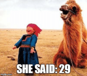 Birthday, Funny, and Meme: SHE SAID:29  ng Funny-happy-birthday-meme-for-friend-who-hides-her-age - Happy Birthday
