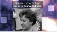 Remembering Jean Stapleton (1923-2013), who played Edith Bunker on All in the Family, on her Birthday!: She starred with Tom  Hanks in You've Got Mail Remembering Jean Stapleton (1923-2013), who played Edith Bunker on All in the Family, on her Birthday!