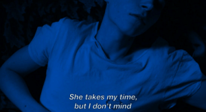 Time, Mind, and She: She takes my time,  but I don't mind