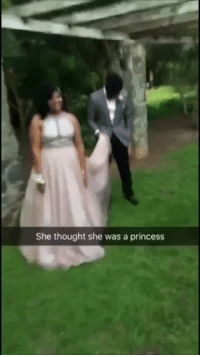 School, Target, and Tumblr: She thought she was a princess douchetier: asdfghjklnia:  usatoday:  A little girl thought this high school senior posing for prom pictures was a real princess. 👑 👑 👑    This just warmed my heart