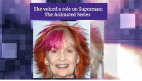 Memes, Superman, and 🤖: She voiced a role on Superman:  The Animated Series Happy 73rd Birthday to Shelley Fabares, who played Mary Stone on The Donna Reed Show!