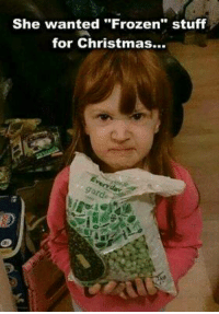 "For More: Dirty Humor: She wanted ""Frozen"" stuff  for Christmas... For More: Dirty Humor"