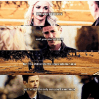 Beautiful, Memes, and Stars: she was no poetry  and you are no poet  but you still wrote the stars into her s  as if she's the only sun you'd ever know I'm not even a SnowBarry shipper, like I'm hardcore Westallen, but damn this is beautiful.😫😫 People like @snowbarry_olicity21 and @frostycait make it hard on Westallen shippers. Edit by: @snowbarry_olicity21 barryallen grantgustin theflash flash flashpoint caitlinsnow daniellepanabaker killerfrost snowbarry westallen iriswest candicepatton LongLiveWestAllen kidflash wallywest keiynanlonsdale ciscoramon justiceleague