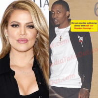 KhloeKardashian has a new HIGH PROFILE relationship. According to multiple sources, Khloe Kardashian is dating NBA star BrandonJennings. The two were spotted having dinner last night at Nobu with a group of friends, including Malika Haqq. But it was CLEAR that Khloe and Brandon were MORE than just friends. Khloe looked sleek and stylish with her hair slicked back and dressed in all black, and so was Brandon. These two make a very interesting couple. We can't wait to see how this turns out. Just in case you've forgotten, Khloe is still married to former baller Lamar Odom, who she had been getting pretty chummy with during NY Fashion Week, just this past February.: She was spotted out having  dinner with NBA star  Brandon Jennings.... KhloeKardashian has a new HIGH PROFILE relationship. According to multiple sources, Khloe Kardashian is dating NBA star BrandonJennings. The two were spotted having dinner last night at Nobu with a group of friends, including Malika Haqq. But it was CLEAR that Khloe and Brandon were MORE than just friends. Khloe looked sleek and stylish with her hair slicked back and dressed in all black, and so was Brandon. These two make a very interesting couple. We can't wait to see how this turns out. Just in case you've forgotten, Khloe is still married to former baller Lamar Odom, who she had been getting pretty chummy with during NY Fashion Week, just this past February.