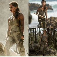 Our first look at Alicia Vikander as Lara Croft in Tomb Raider is here!: shea est Our first look at Alicia Vikander as Lara Croft in Tomb Raider is here!