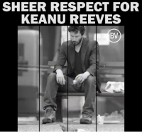 Dank, Respect, and 🤖: SHEER RESPECT FOR  KEANU REEVES  BV ❤