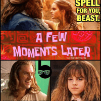 My theory for why Belle is so much more proactive and headstrong in the new BeautyandtheBeast. 🤔😂 FilthyMuggles -- Personally, i loved most of the new expository additions in the new movie - it fleshed out the backstory of all the major and side characters of the story *so* much better. All the additional songs, however... were pretty forgettable. And one was downright eye-roll worthy. Overall tho, it's still a magical family experience that is SOLD OUT EVERYWHERE! My god! Literally everyone and their mother is seeing this movie. Lol. 9-10 though. Original is a 10-10 for nostalgia alone but they're honestly very comparable in terms of quality. What did you guys think of the @beautyandthebeast remake? PODCAST dropping tomorrow! 👍🏾👍🏾: SHELL  FOR YOU  BEAST  A FEW  MOMENTS LATER My theory for why Belle is so much more proactive and headstrong in the new BeautyandtheBeast. 🤔😂 FilthyMuggles -- Personally, i loved most of the new expository additions in the new movie - it fleshed out the backstory of all the major and side characters of the story *so* much better. All the additional songs, however... were pretty forgettable. And one was downright eye-roll worthy. Overall tho, it's still a magical family experience that is SOLD OUT EVERYWHERE! My god! Literally everyone and their mother is seeing this movie. Lol. 9-10 though. Original is a 10-10 for nostalgia alone but they're honestly very comparable in terms of quality. What did you guys think of the @beautyandthebeast remake? PODCAST dropping tomorrow! 👍🏾👍🏾