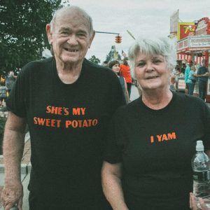 Never too old for a quality pun. via /r/funny https://ift.tt/2qHepVI: SHE'S M  SWEET POTATO  I YAM  ona Never too old for a quality pun. via /r/funny https://ift.tt/2qHepVI