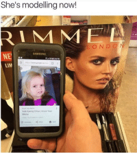"Meme, Memes, and Cool: She's modelling now!  RIMM  LOND O  AMSUNO  NE  LIM  Side Eyeiny Chloe Know Your  Meme <p>Cool via /r/memes <a href=""http://ift.tt/2D7ZRDQ"">http://ift.tt/2D7ZRDQ</a></p>"